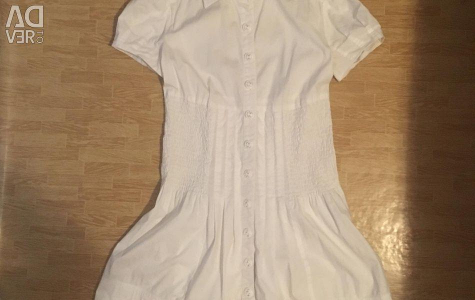 Удлінeнная блузка