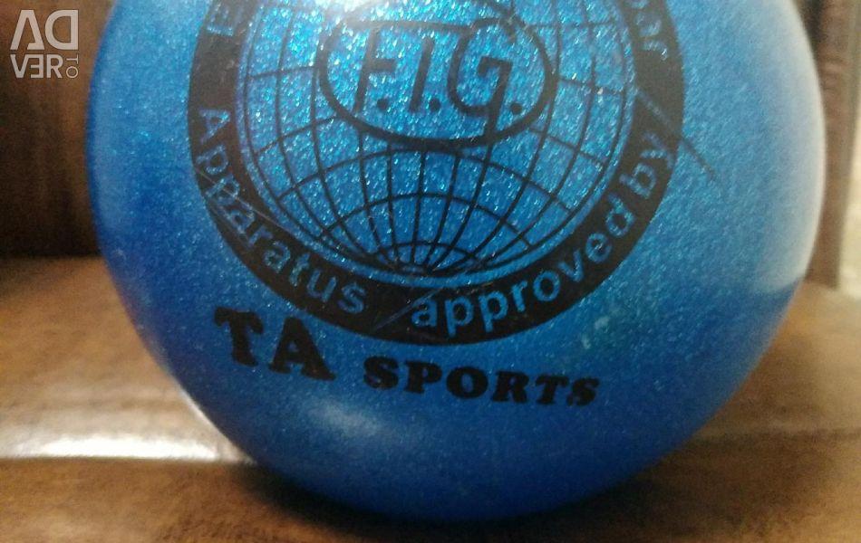 Ball for rhythmic gymnastics