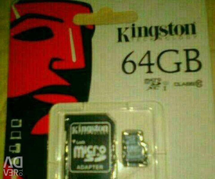 Kingston 64 Gb Memory Card