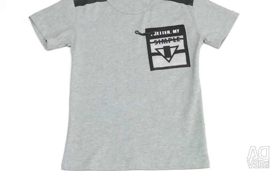 Новая футболка (хлопок)