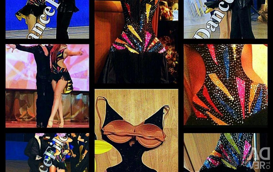 Latina φόρεμα / χορός χορού
