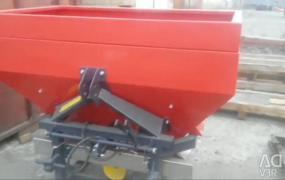 Fertilizer spreader 800l J75