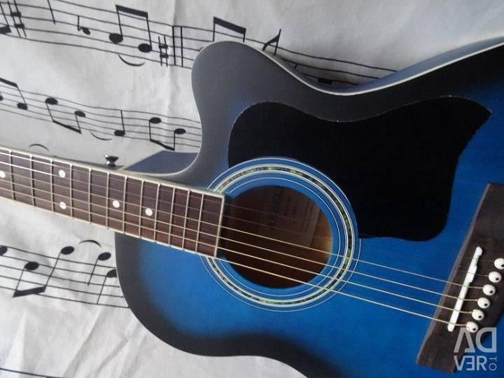Acoustic guitar tuned