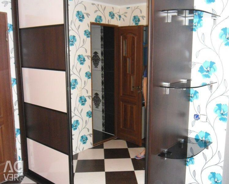 Sliding wardrobe Linear Double with Mirror