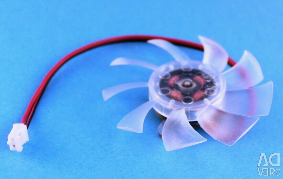 Ανεμιστήρας για κάρτα γραφικών 55 mm d55 2pin 12V