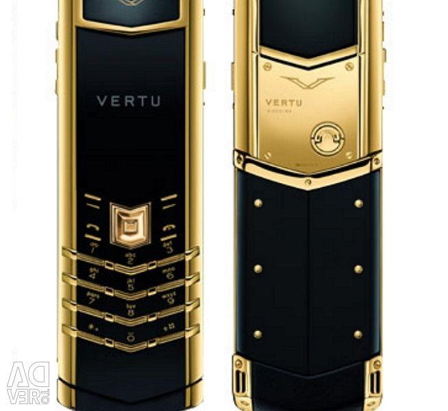 Vertu Signature S Design gold
