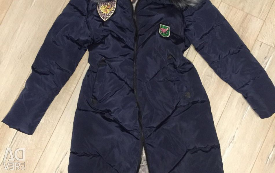 Jacheta este nouă. iarnă