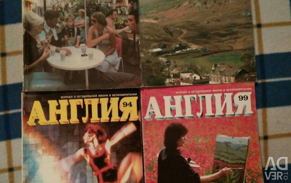 Reviste Anglia 1984-87 ani.