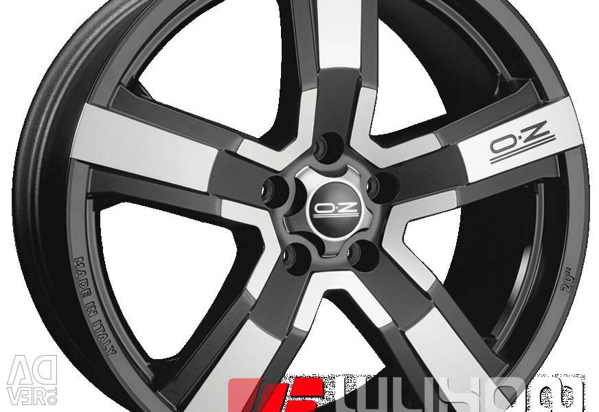 Колесные диски OZ Racing Versilia 9.5x20 PCD 5x114.3 ET 40 DIA 79.00 Matt Black + Diamond cut