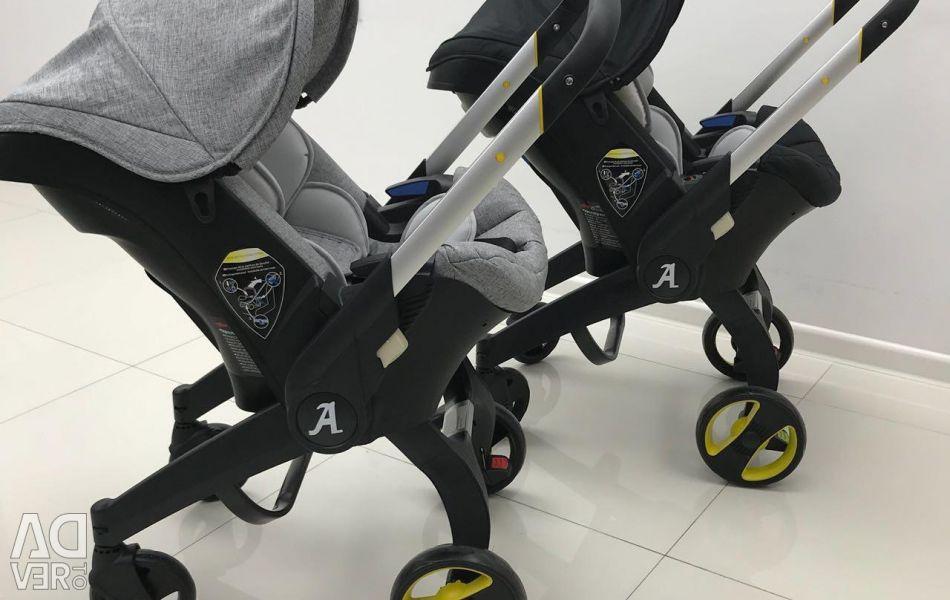 Scaun auto scaun cu rotile Foofoo 4v1 disponibil în Omsk !!!
