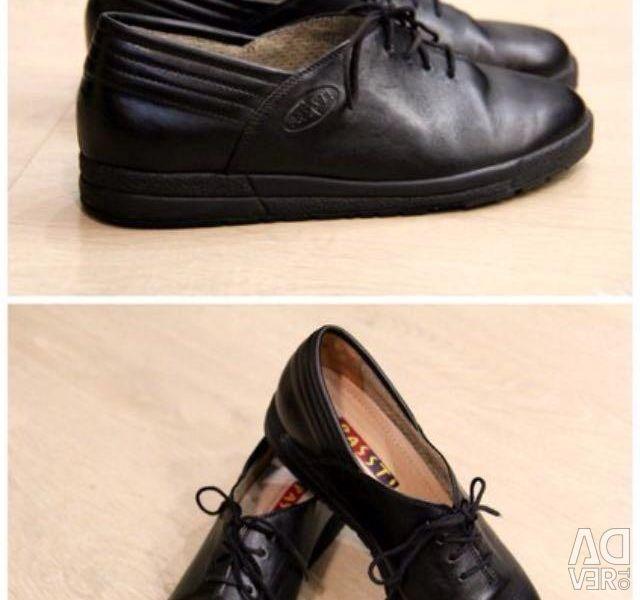 Black leather shoes Passt! No.2
