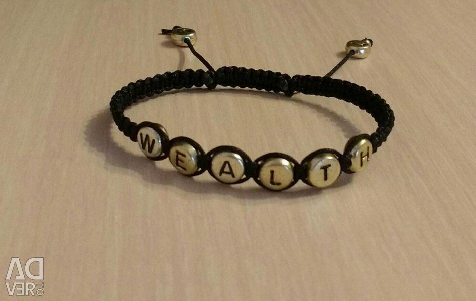 Bracelet with any inscription