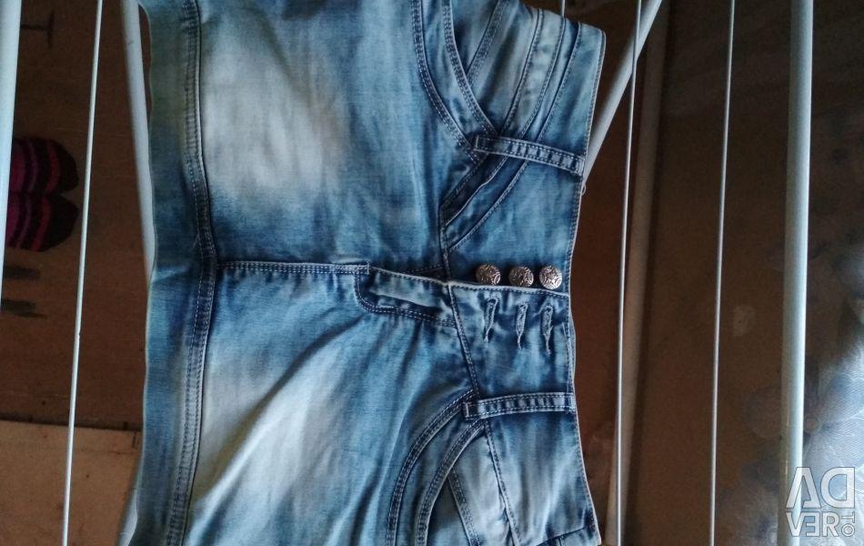 Denim skirt, 26 size