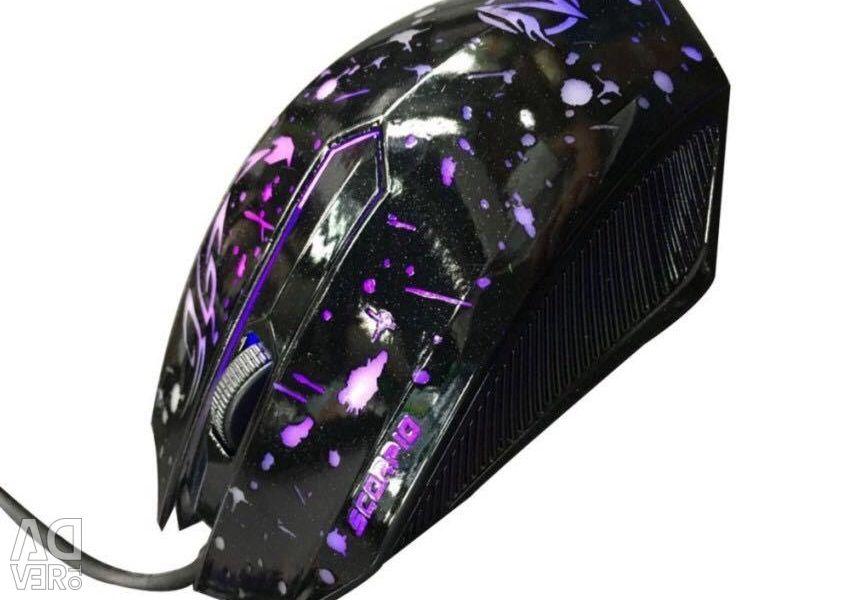Νέο ποντίκι με οπίσθιο ποντίκι Ripper XG66 009854
