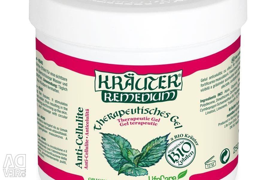 Gel anti-celulita cu mentă BIO 250 ml