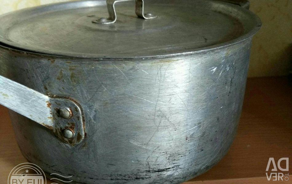 Pan aluminum 3l.