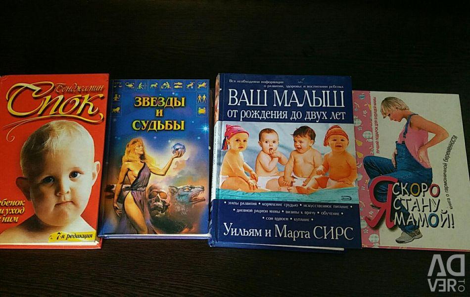 Books. Pregnancy, childbirth, child rearing.