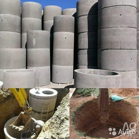 Concrete rings, covers, hatches, bottoms - delivery