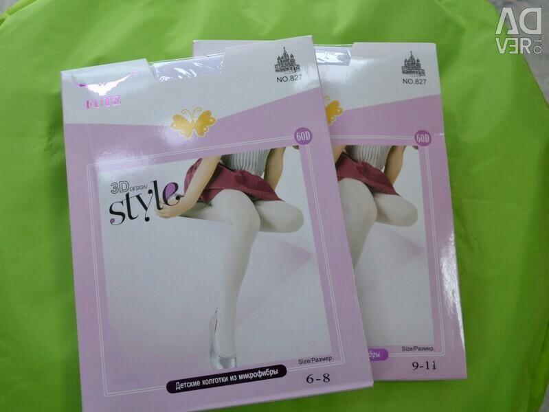 White pantyhose 3d