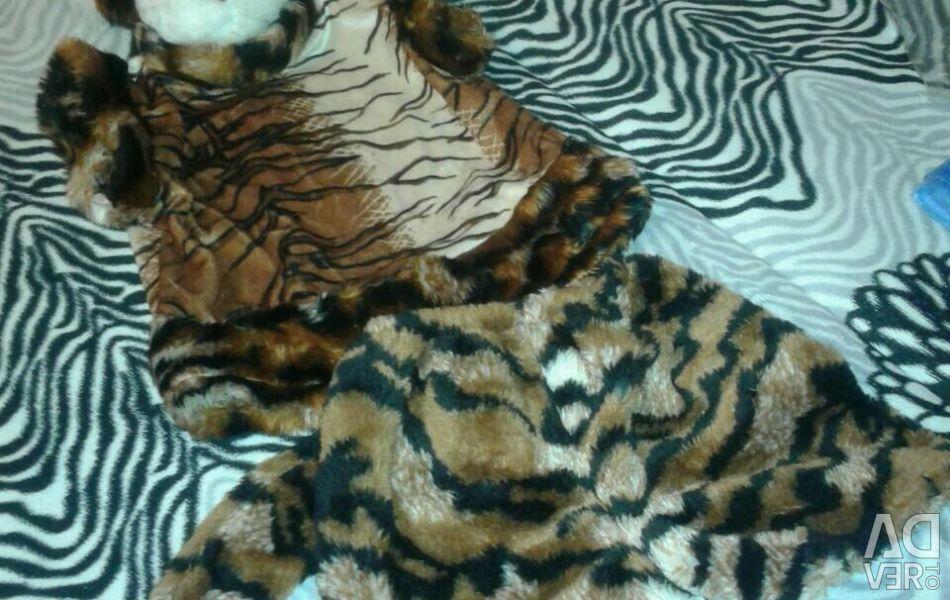 Costum Tiger, 104 cm + 1 -