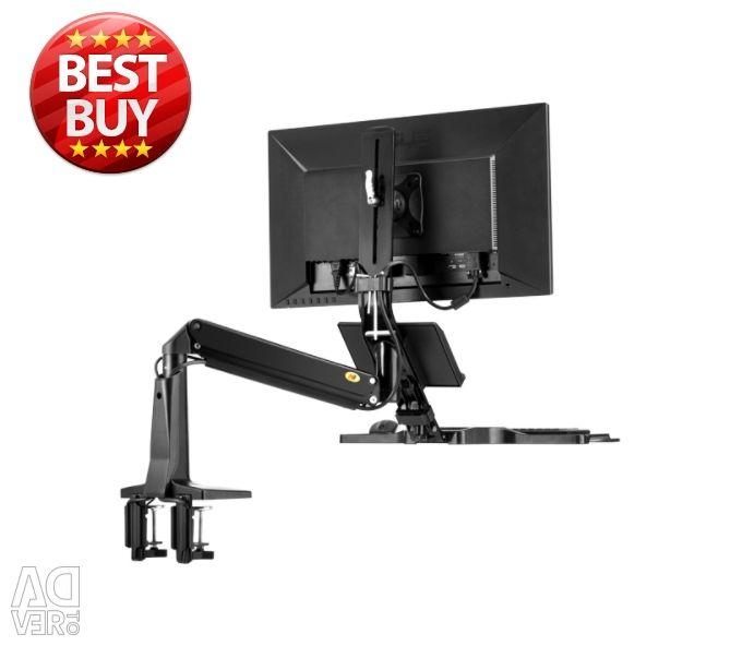 Sit Stand Desk Height Adjustable Standing Desk Wor