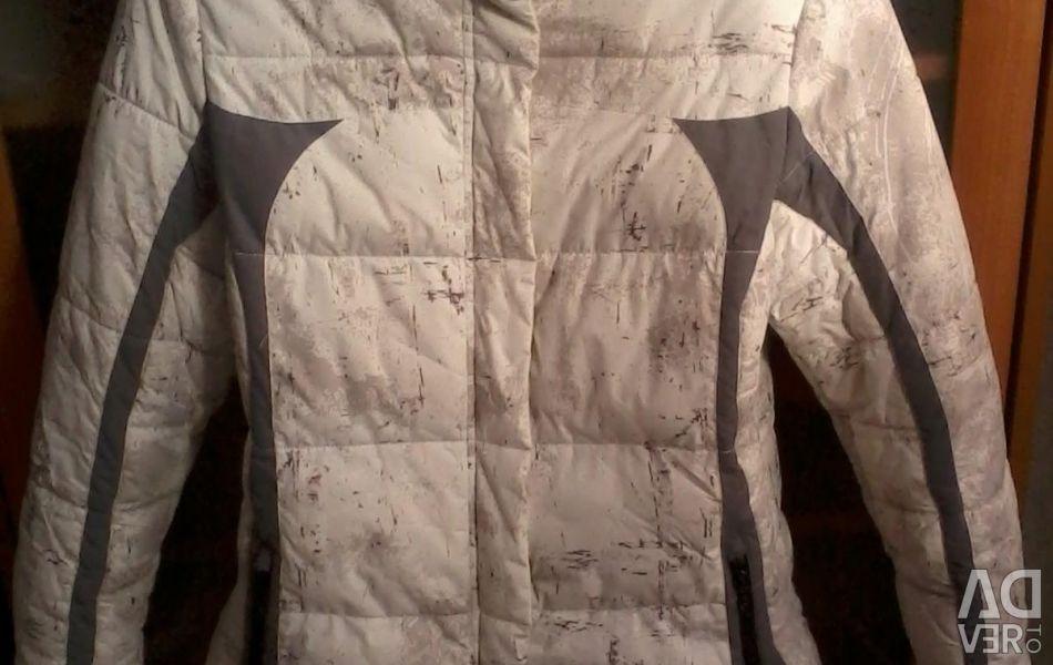 Branded winter jacket, Vakkarda, 46-48 rubles., Used