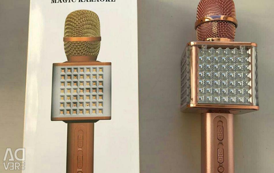 Karaoke μικρόφωνο YS-86 με οπίσθιο φωτισμό
