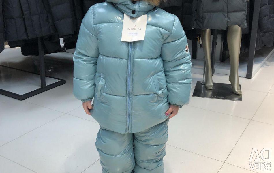 Костюм moncler зимовий холлофайбер