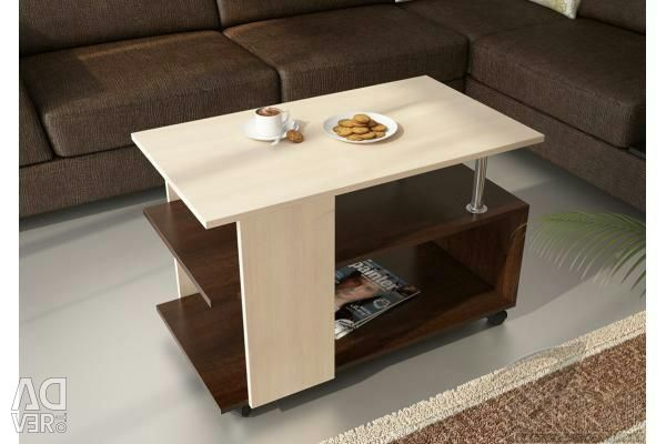 Three-level coffee table