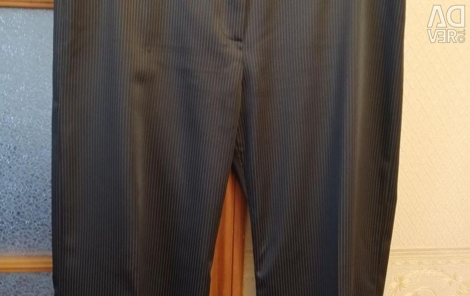 Κλασικά παντελόνια από σατέν