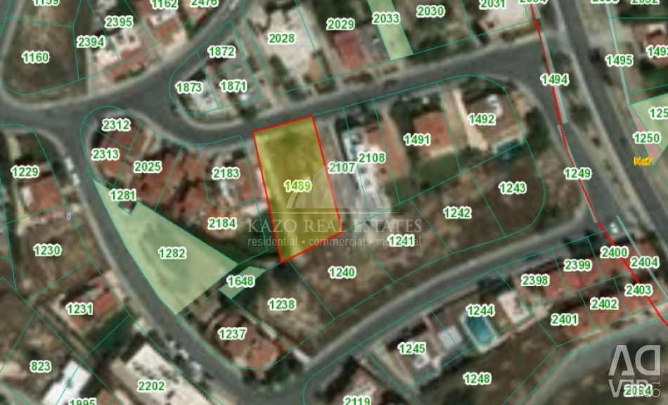 Plot Residential in Agios Athanasios Limassol