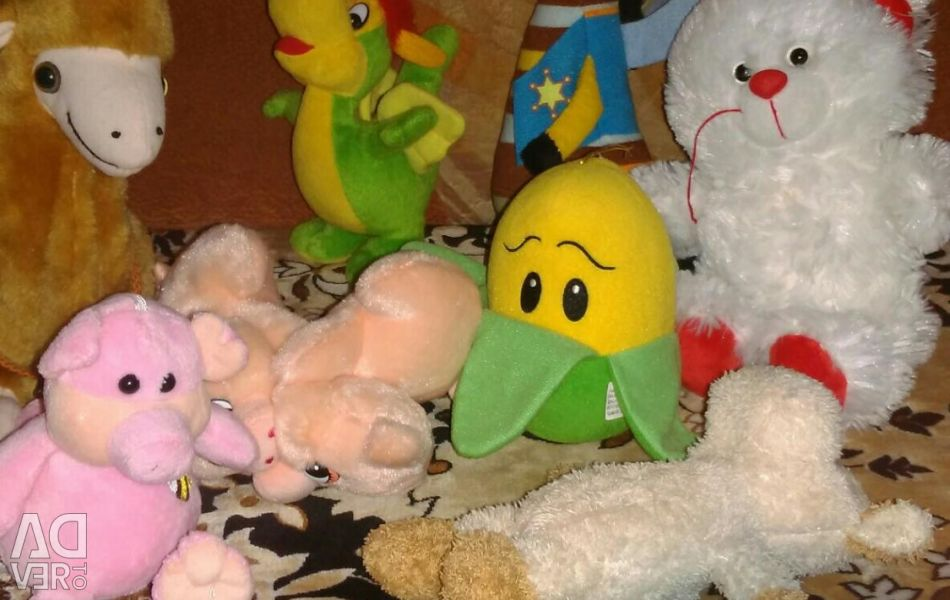 I will sell soft toys