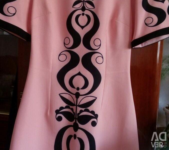 Ροδάκινο φόρεμα (Τουρκία) νέο
