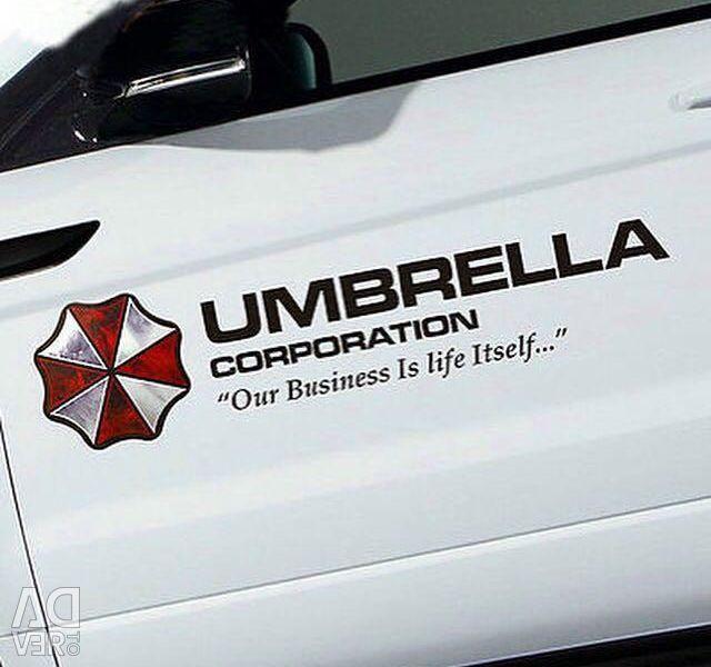 Araba Çıkartması Resident Evil Resident Evil