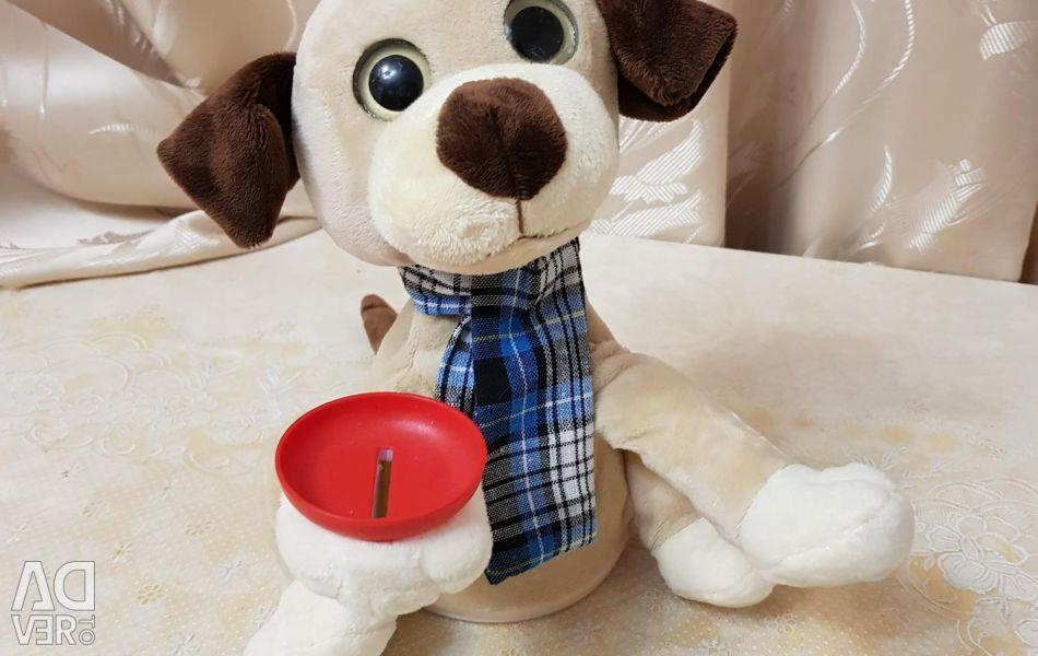 Νέο σκυλί παιχνιδιού δώρο μουσικό κουμπαρά