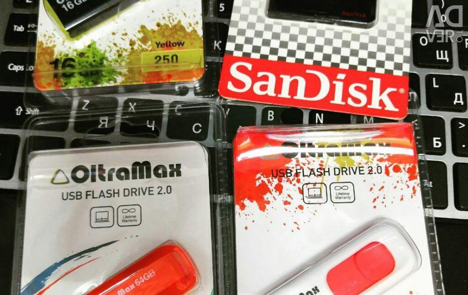 Flash USB 16 GB, 32 GB, 64 gb / i1 / garanție de schimb
