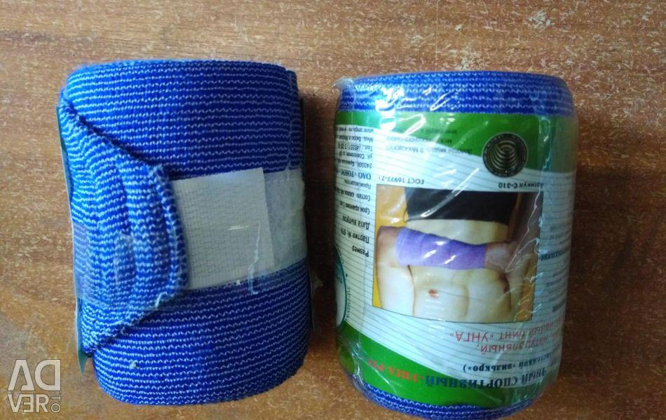 Bandage elastmchny medical sport UNGA-RUS 2,0 * 8