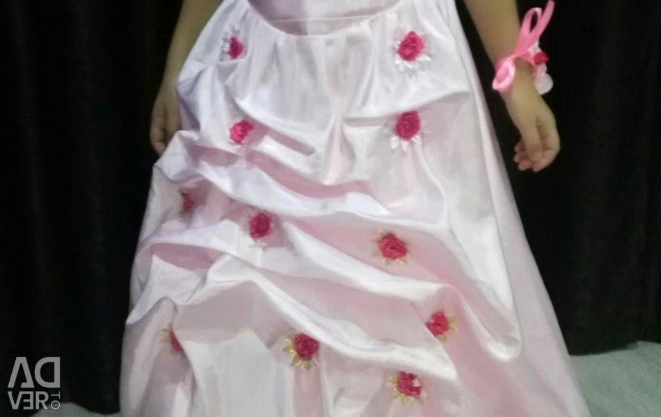 Prenses için elbise.