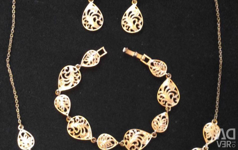 Set of jewelry Avon