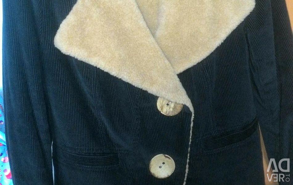 Велветовая куртка