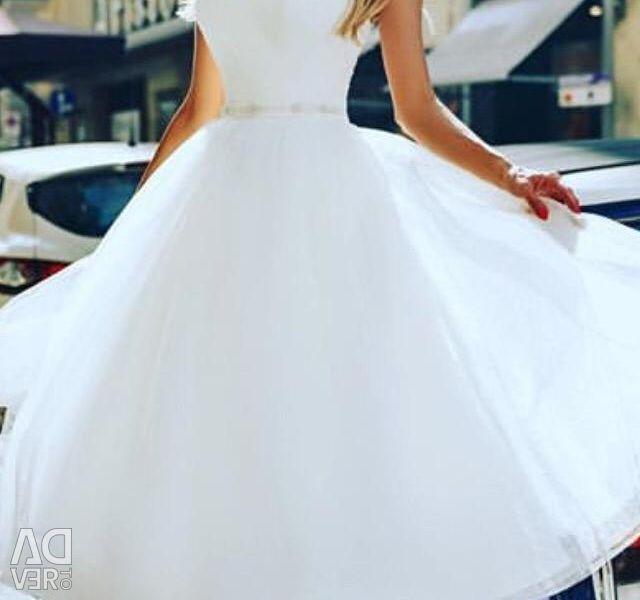 New short wedding dress. Atlas