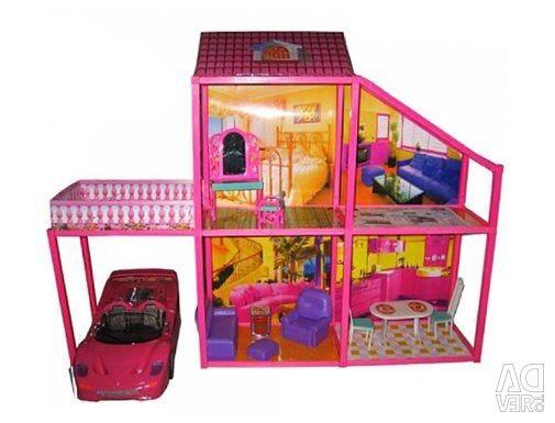 Dollhouse with a machine My Lovely Villa 76cm 6981