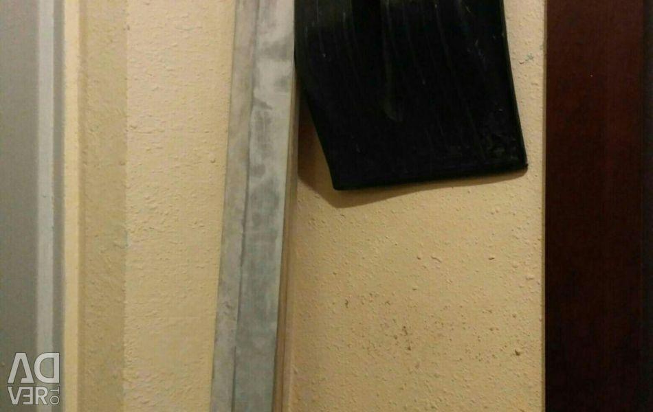 Aluminum construction rule 2.5 m