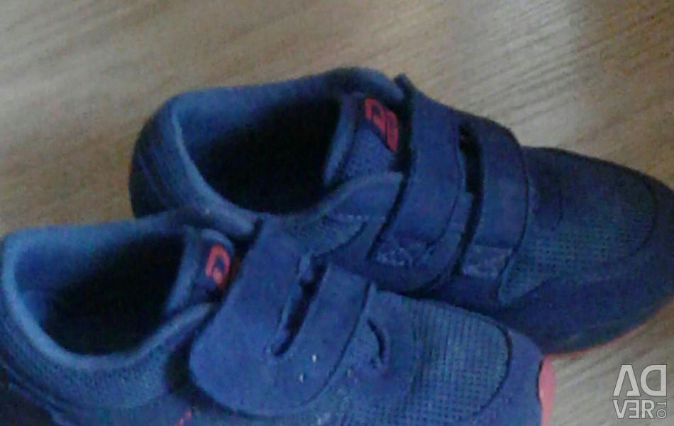 Shoes for boy shining