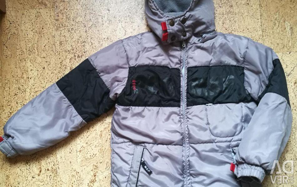Jacket 116 cm demi-season