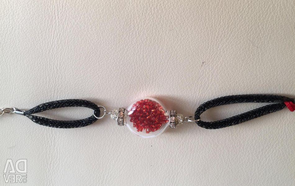 Bracelet NEW tag Murano glass