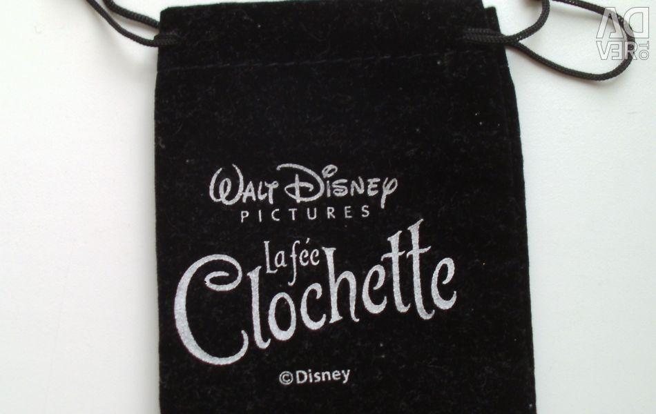 Подарочный мешочек для украшений черный Disney