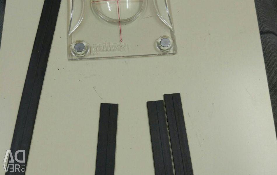 Placă magnetică pentru circuite de hârtie