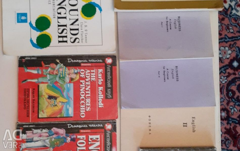 Textbooks and manuals in English
