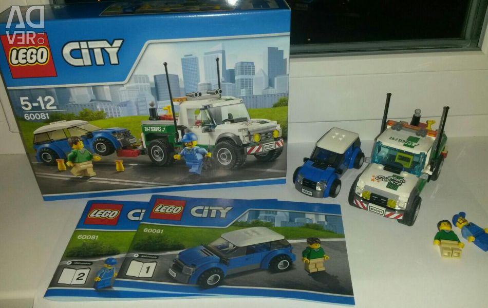 LEGO CITY 60081 designer